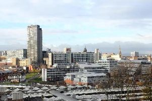 Sheffield is in the running to be named Europe's number one city.