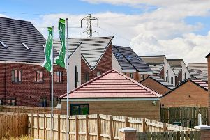 New build houses on a Persimmon Homes estate
