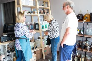 A new zero waste shop has opened in Brighouse
