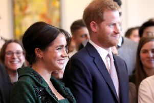The Duke and Duchess of Sussex broke from usual royal protocal when announcing the birth of their child. Photo Chris Jackson/WPA Pool/Getty Images.