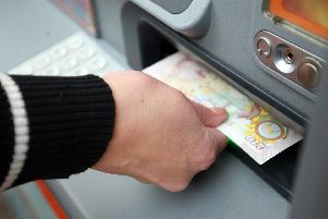 Cash machines are being withdrawn from our high streets