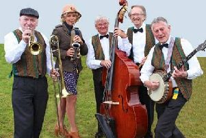 Jazz band Deco Delight will round off a series of Musical Extravaganza concerts in Padiham this weekend.