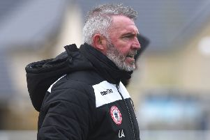 Lee Ashcroft saw his Longridge Town side win at the weekend