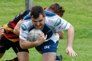 Tom Coates led the way with a man-of-the-match display in Mirfield Stags latest win, Picture: Dave Wood.