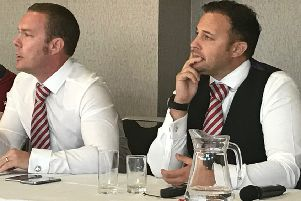 Morecambe owners Jason Whittingham and Colin Goldring are seeking the club's first new manager since 2011 after Jim Bentley's exit
