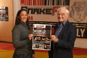 Andrea and Roy Wood help their inaugural World Championships last year