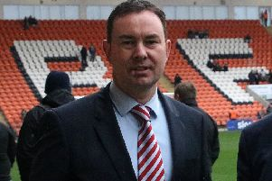 Morecambe boss Derek Adams