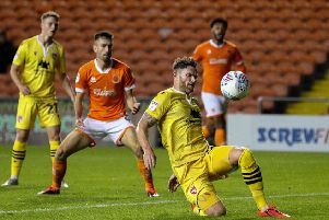 Ritchie Sutton sits out Morecambe's game with Newport County this weekend following his red card at Plymouth Argyle
