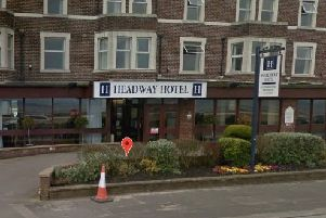 The Headway Hotel in Morecambe. Image courtesy of Google Streetview.