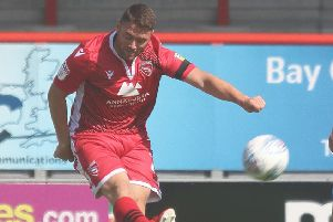 Adam Buxton can leave Morecambe