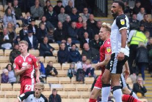 A-Jay Leitch-Smith scored for Morecambe