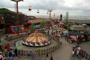 The former Frontierland site in Morecambe