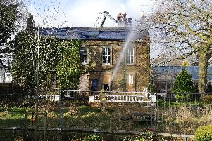 Fire crews have been tackling a blaze at The Tavern at Scale Hall in Lancaster.