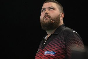 Michael Smith. Picture: PDC.TV