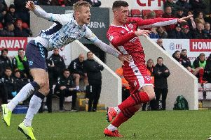 Cole Stockton's performance against Mansfield Town had everything except a goal