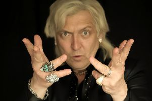 Clinton Baptiste will be displaying his talents at Lancaster Grand.