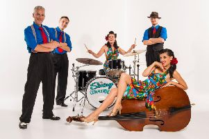 Swing Commanders return to Morecambe's Platform.