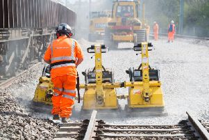 Sections of the West Coast Main Line will be closed to trains