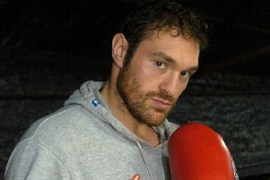 Tyson Fury is back in the ring