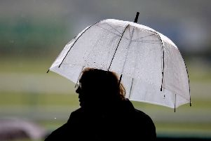 Heavy rain is predicted for Lancaster and Morecambe