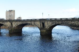 Skerton Bridge changed to two-way traffic during the refurbishment of Greyhound Bridge