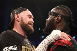 Tyson Fury challenges Deontay Wilder on December 1