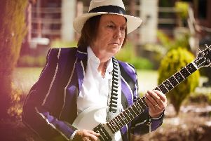 Dave Hill, guitarist with legendary glam rockers Slade, is back on the road for a series of Christmas gigs