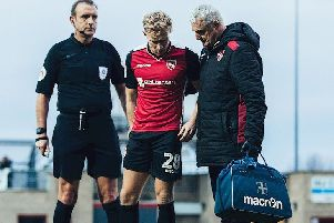 A-Jay Leitch-Smith is Morecambe's latest injury victim