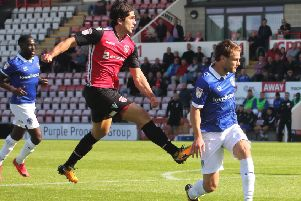 Zak Mills has been one of Morecambe's leading lights this season