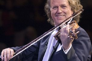 Everyone is full of happiness where Andre Rieu plays