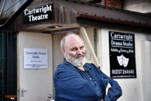 Playwright Jim Cartwright has chosen Chorley to become the home for his latest theatrical adventure