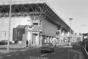 Crowtree Leisure Centre pictured in 1977.