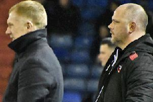 Paul Scholes and Jim Bentley