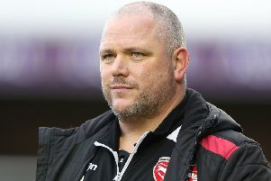 Morecambe boss Jim Bentley wants his side to build on a big week      Picture: Getty Images