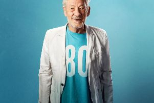 Sir Ian McKellen at the Blackpool Grand Theatre