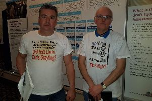 Mexborough First councillors Sean Gibbons and Andy Pickering