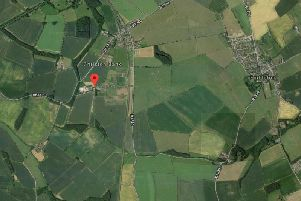 The site of the proposed development at Christon Bank Farm. Picture from Google