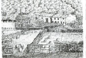 An impression of Mill Farm by John. C. Miller.