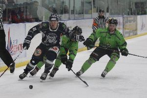 Sheffield Steeldogs and Hull Pirates will lock horns once again, this time in the North One Playoff Final. Picture courtesy of Sheffield Steeldogs.
