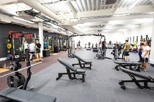 The new facilities at Lancaster University.