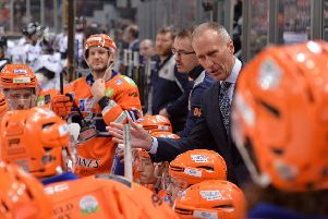 Sheffield Steelers head coach, Tom Barrasso. Picture: Dean Woolley