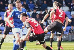 Zak Mills scored for Morecambe last weekend