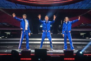 Take That in concert at FlyDSA Arena, Sheffield. Picture: Anthony Longstaff