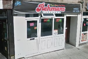 The operator at Rehmans takeaway on Queen Street in Morecambe has been fined over �1,500 for breaching food hygiene regulations. Picture: Google Street View.