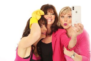 The cast of 'Hormonal Housewives' which is heading to Lancaster Grand.