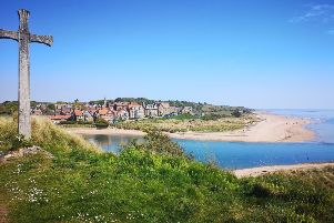 FIRST: Alnmouth from Church Hill by Jackie Thompson (270 likes).
