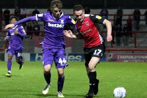 Morecambe lost to Stoke City in last season's Checkatrade Trophy