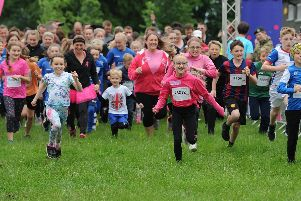 Preston's Pretty Muddy races at Moor Park