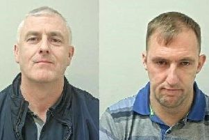 Brian Thexton, 43 and Ronald Thexton, 35, were arrested yesterday (Thursday, July 11) in the Ribble Valley village of Gisburn