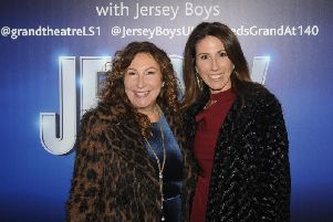 Mum and daughter, Kay Mellor and Gaynor Faye